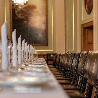 Painters' Hall - Livery Hall Table Set Up
