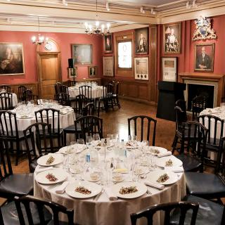 Painters' Hall - Court Room Round Tables