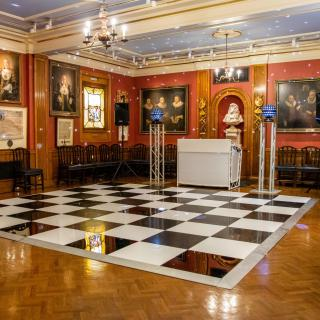Painters Hall - Christmas Party DJ & Dancefloor in the Court Rooms